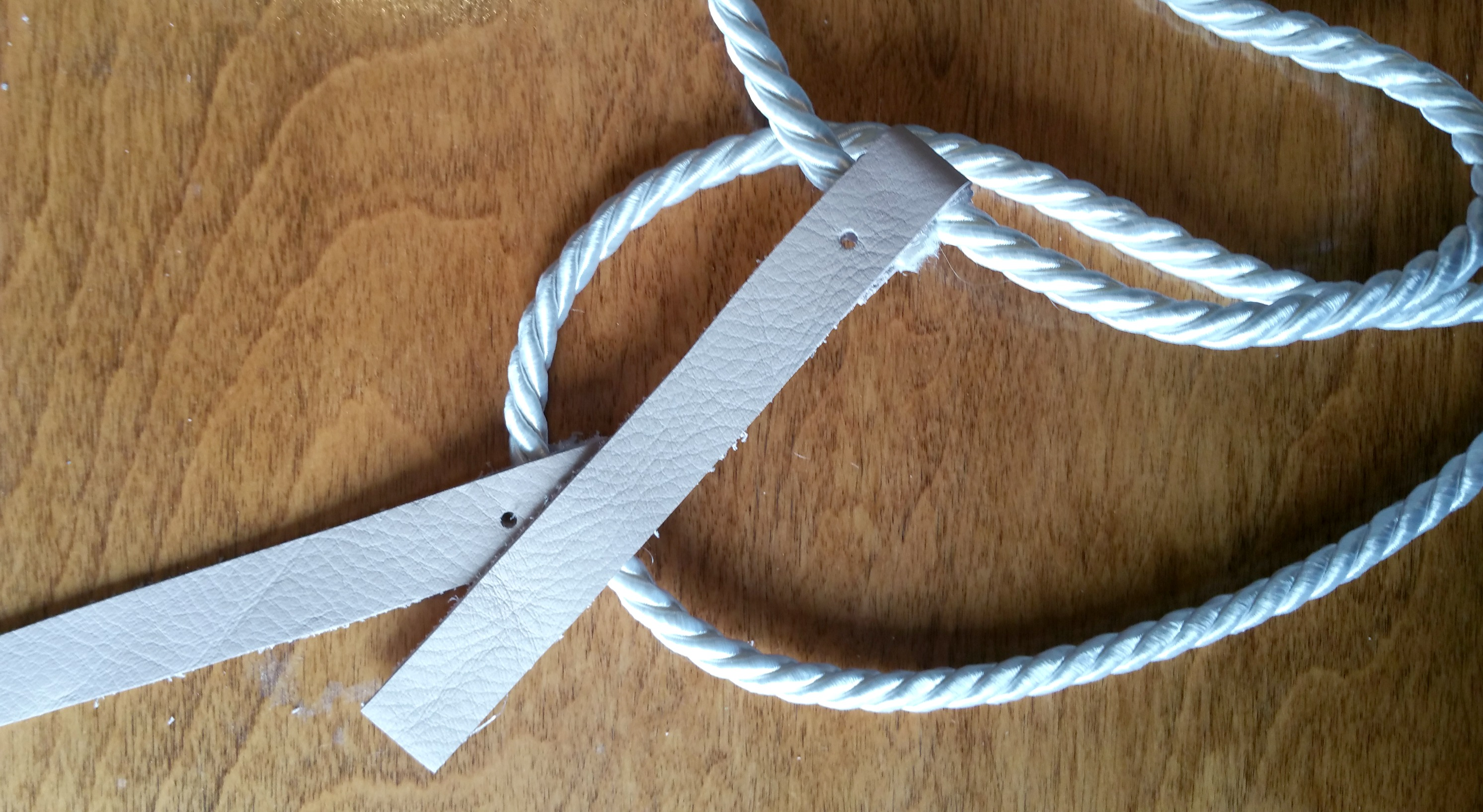 DIY Rope Belt